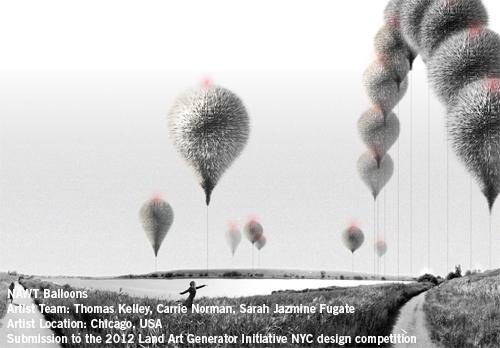 Nawt Balloons Land Art Generator