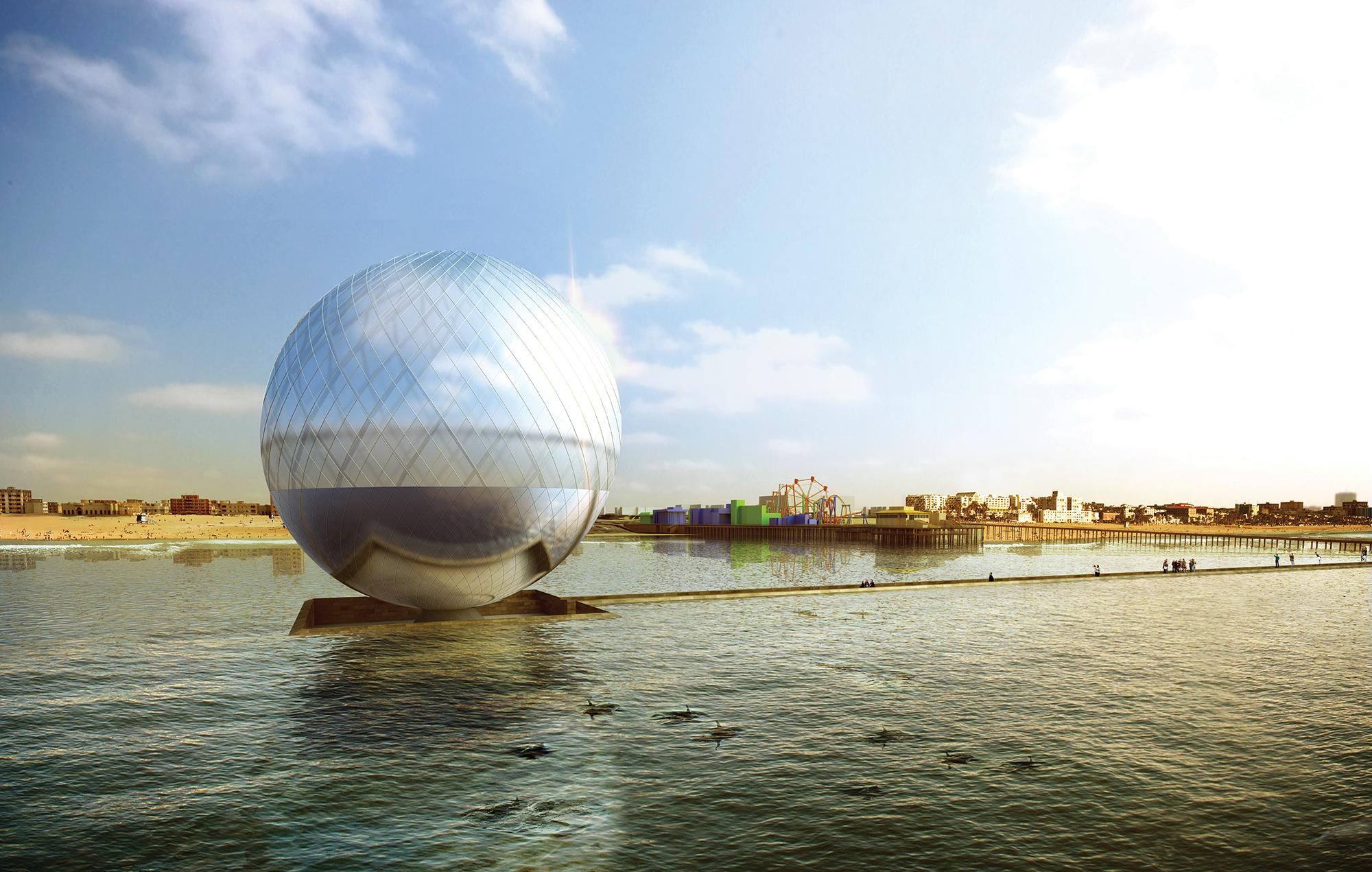 Water Art Structures : Land art generator