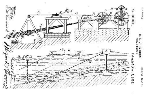 turn of the century wave energy patents  u2013 land art generator