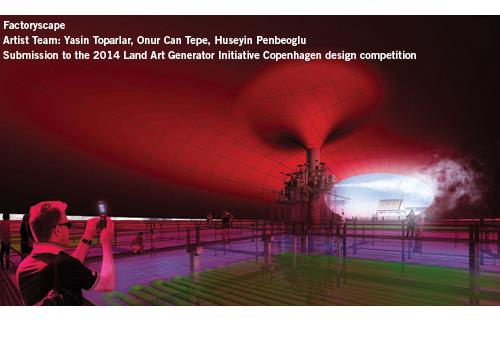 Factoryscape, LAGI2014, Copenhagen, renewable energy, algae, biodiesel, green design, Yasin Toparlar, Onur Can Tepe, Huseyin Penbeoglu