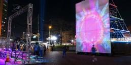 Sun Stomp, solar, Light City, Baltimore, public art, clean-energy art, art energy generator, Baltimore, Sun Stomp Collective