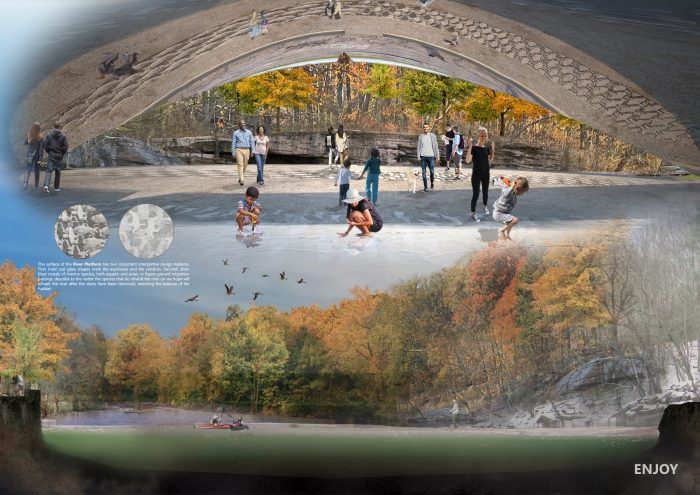 renewable energy, LAGI, LAGI Willimantic, Connecticut, solar, public art, design competition, winning LAGI Willimantic design, connecticut, willimantic whitewater partnership, Rio Iluminado