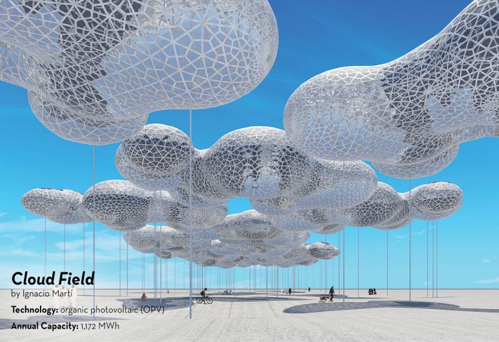 Cloud Field, LAGI 2019 Abu Dhabi