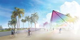 St Kilda Triangle, LAGI 2018, Solar, renewable energy, energy tech, clean tech, City of Port Phillip, land art generator initiative, Melbourne, Australia