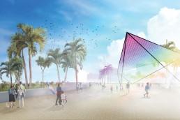 St Kilda Triangle, LAGI 2018, Solar, renewable energy, energy tech, clean tech, City of Port Phillip, land art generator initiative, Melbourne, Australia