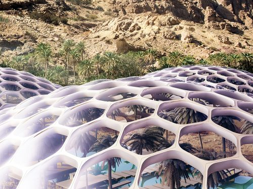 Baharash Architecture, biodomes, UAE, solar, wind, renewables, bioclimatic design, green design, eco-tourism, renewable energy, recycling, greywater recycling, prefabricated design, passive cooling, Baharash Bagherian, sustainable architecture