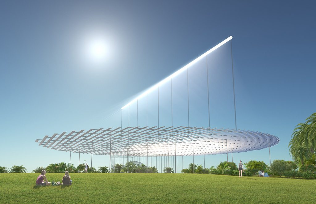 Sun Ray, Antonio Maccà, LAGI 2018, LAGI 2018 Melbourne, solar, solar art, land art generator initiative, renewables, green design, energytech
