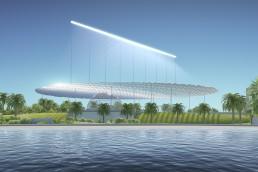 Sun Ray, Antonio Maccà, LAGI 2018, LAGI 2018 Melbourne, solar, solar art, land art generator initiative, renewables, green design, energytech
