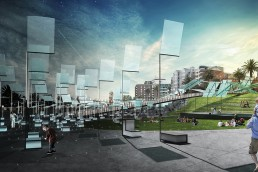 St Kilda Triangle, LAGI 2018, renewable energy, energy tech, clean tech, City of Port Phillip, land art generator initiative, Melbourne, Australia