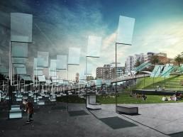 St Kilda Triangle, LAGI 2018, renewable energy, energy tech, clean tech, City of Port Phillip, land art generator initiative, Melbourne, Australia
