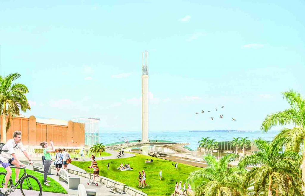 Sol Tower, LAGI 2018, solar, renewables, clean tech, solar updraft tower, St Kilda Triangle, City of Port Phillip, Melbourne, Victoria, green design, NIKA, Australia, Land Art Generator Initiative