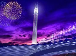 Sol Tower, LAGI 2018, solar, renewables, clean tech, solar updraft tower, St Kilda Triangle, City of Port Phillip, Melbourne, Victoria, green design, NIKA, Australia, Land Art Generator Initiative