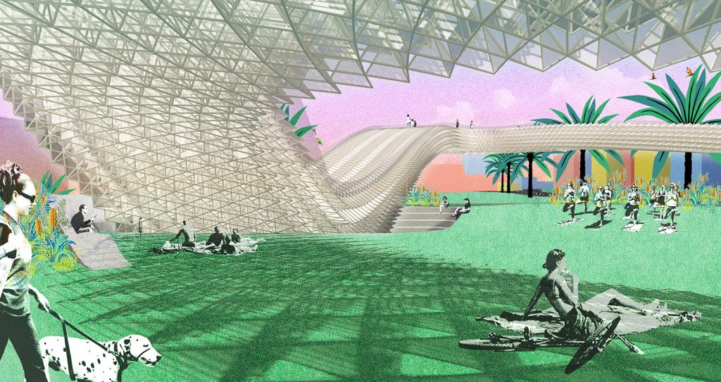 St Kilda Triangle, LAGI2018, Grimshaw Architects, St Kilda Halo, Sphelar, Solar, renewable energy, energy tech, clean tech, City of Port Phillip, land art generator initiative, Melbourne, Australia