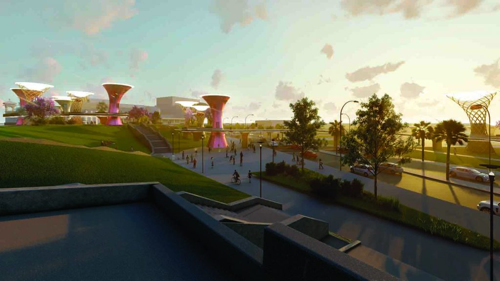 The Canopy, LAGI 2018, solar energy, wind energy, tidal energy, rainwater harvesting, energytech, st kilda triangle, city of port phillip, melbourne, green design, Australia