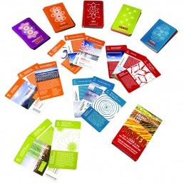 Art + Energy cards, energy art game, renewable energy, solar, wind, renewables, clean tech, educational materials, public art, energy tech