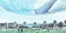 LAGI 2018, St Kilda, City of Port Phillip, Melbourne, Australia, solar power, wind power, thin-film photovoltaic, Vertical axis wind turbines, renewable energy, clean energy, public art