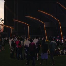 LAGI 2018, Land Art Generator Initiative, solar energy, wind energy, renewable energy, public art, St Kilda Triangle, Melbourne, City of Port Phillip, Victoria, Australia, Ngargee, amorphous silicon thin-film photovoltaic