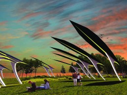 solar power, thin-film multijunction solar, piezoelectricity, public art, st kilda, melbourne, city of port phillip, australia, melbourne, LAGI 2018, land art generator initiative, renewable energy, clean energy, stealing fire