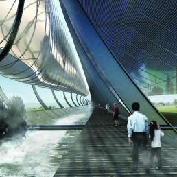solar power, hydro power, energy storage, water battery, st kilda triangle, city of port phillip, public art, renewable energy, urban energy, melbourne, LAGI 2018