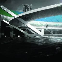 solar power, dye-sensitized solar cells, renewable energy, rainwater storage, water filter, public art, st kilda triangle, LAGI 2018, Melbourne, City of Port Phillip, renewable energy, clean energy