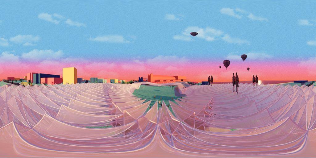 St Kilda Halo, Grimshaw Architects, VR, virtual reality, green design, st kilda, Land Art Generator Initiative, LAGI 2018, Melbourne, solar power