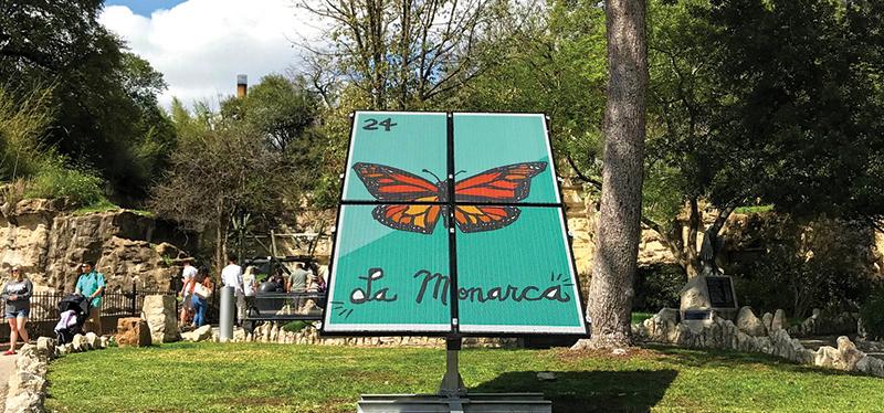 La Monarca, San Antonio